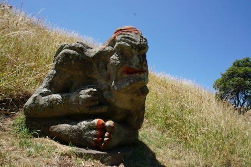 Free stock photo of maori, new zealand, statue