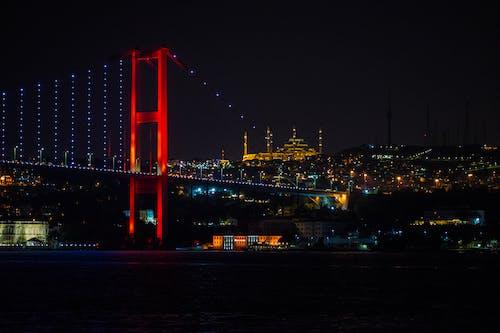 7月15日烈士橋, 伊斯坦堡, 博斯普魯斯海峽大橋 的 免費圖庫相片