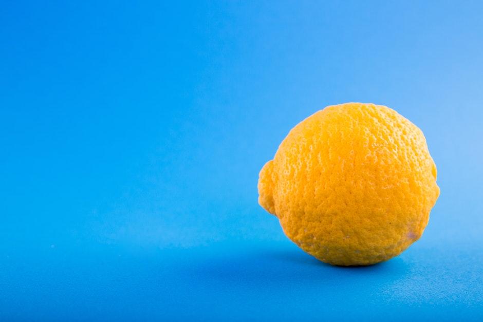 blue, bright, citrus