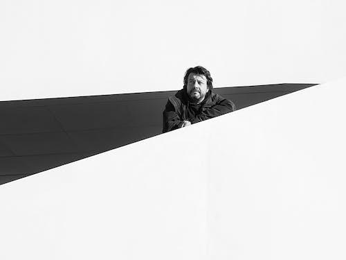 검정색과 흰색, 그레이스케일, 남성의 무료 스톡 사진