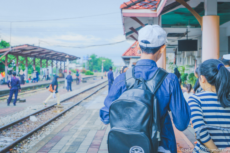 Free stock photo of life, thailand, train, travel