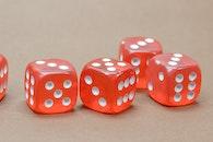 casino, game, cubes
