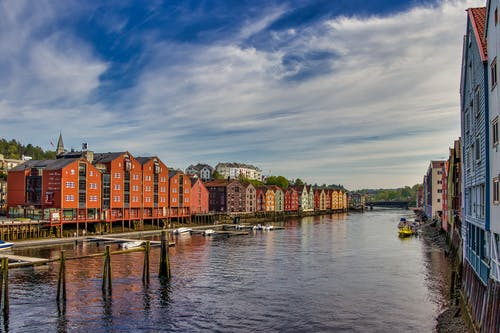 Photo Of Houses Beside River