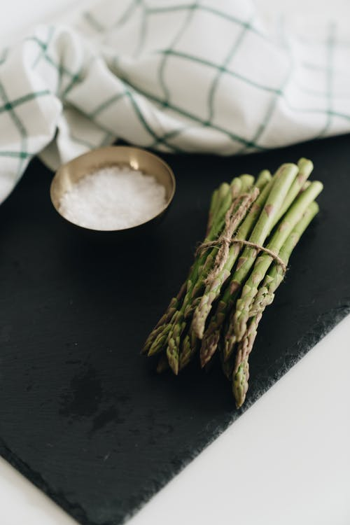 Close-Up Photo Of Asparagus