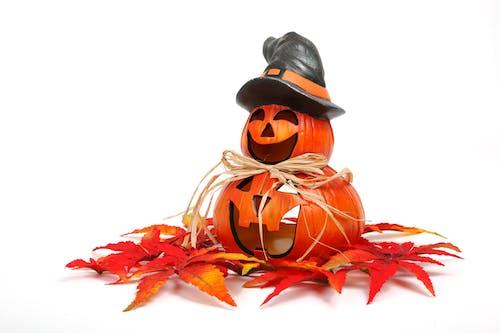 Immagine gratuita di arancia, divertente, halloween, isolato