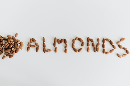 Photo Of Almonds In Word Form