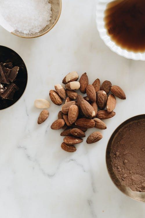 Photo Of Almonds Beside Chocolates