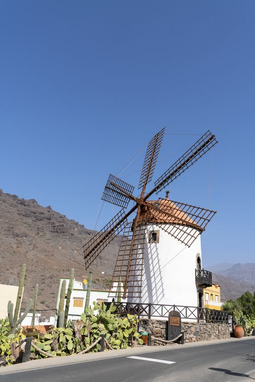 Photo Of Windmill During Daytime