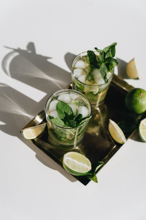 Photo Of Lime Near Glass