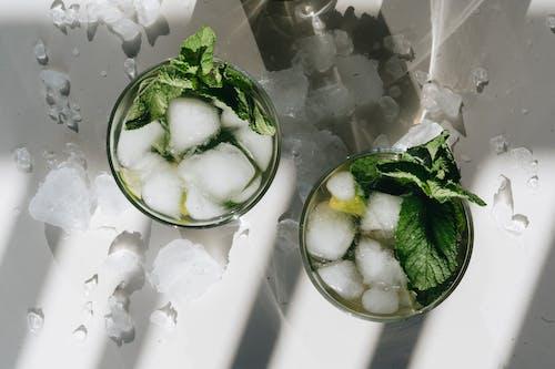 アイス, アルコール飲料, ガラス, クールの無料の写真素材