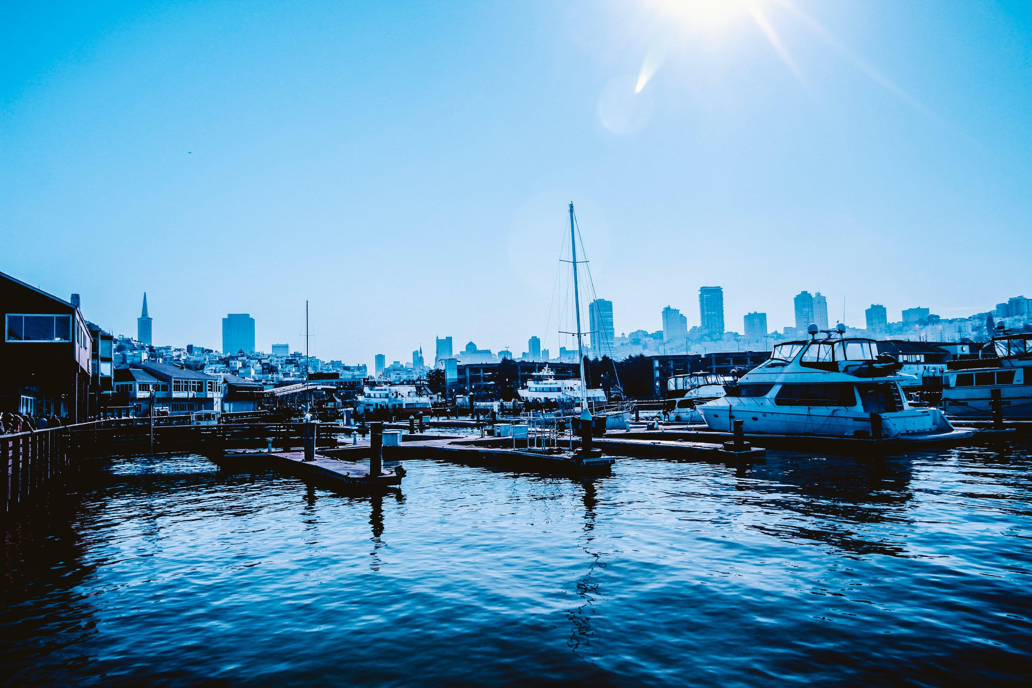 Free stock photo of boats, pier 39, sail, san francisco