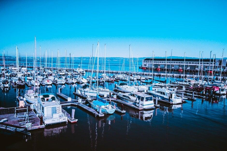 bay, boats, dock
