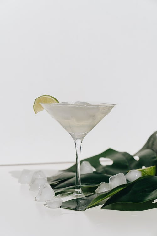 Photo Of Cocktail On Leaf