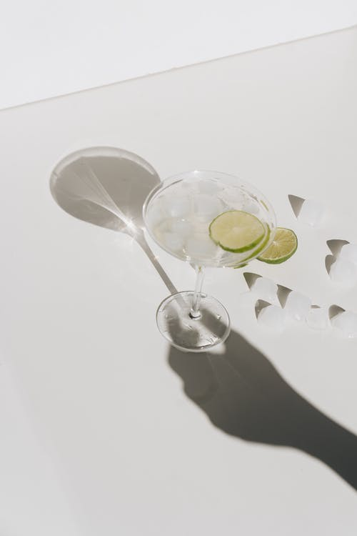 Photo Of Lime On Cocktail