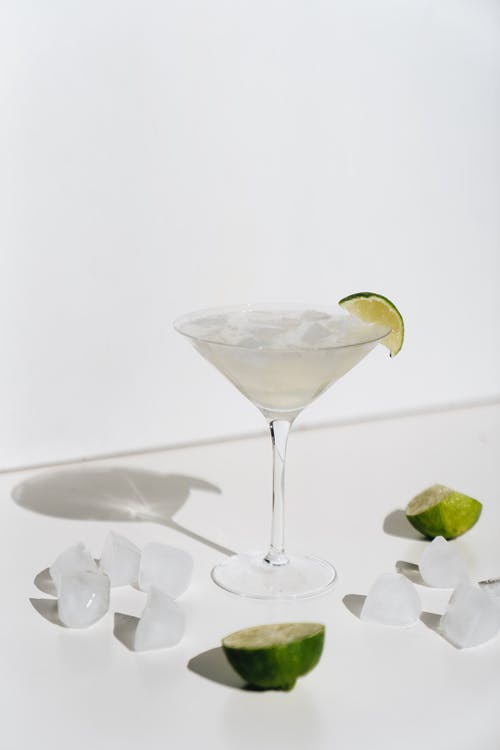 Close-Up Photo Of Cocktail Glass