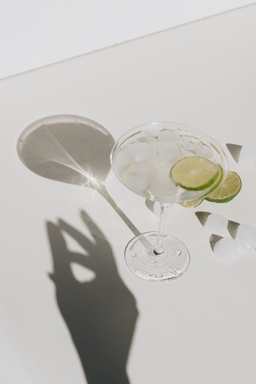 Photo Of Cocktail With Sliced Lime