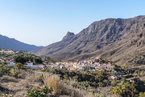 Бесплатное стоковое фото с вид сверху, горы, гран-канария