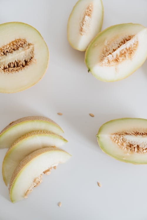 Photo Of Sliced Melons