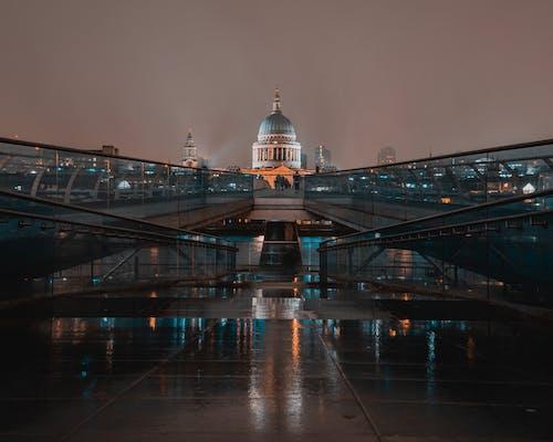 4k, 倫敦, 千禧橋 的 免費圖庫相片
