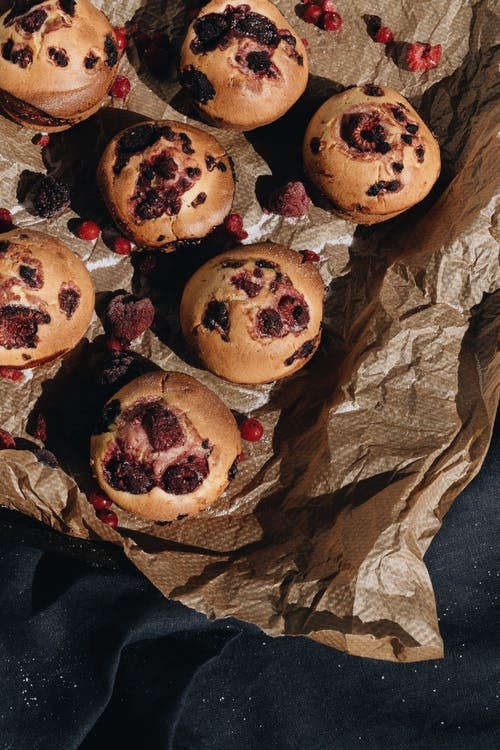 Photo Of Berry Muffins