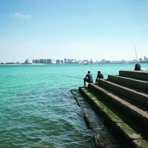 Free stock photo of fishing, sea, seaside