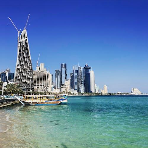 Free stock photo of Corniche, doha, gulf, promenade