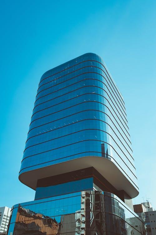 Immagine gratuita di architettonico, architettura, bicchiere