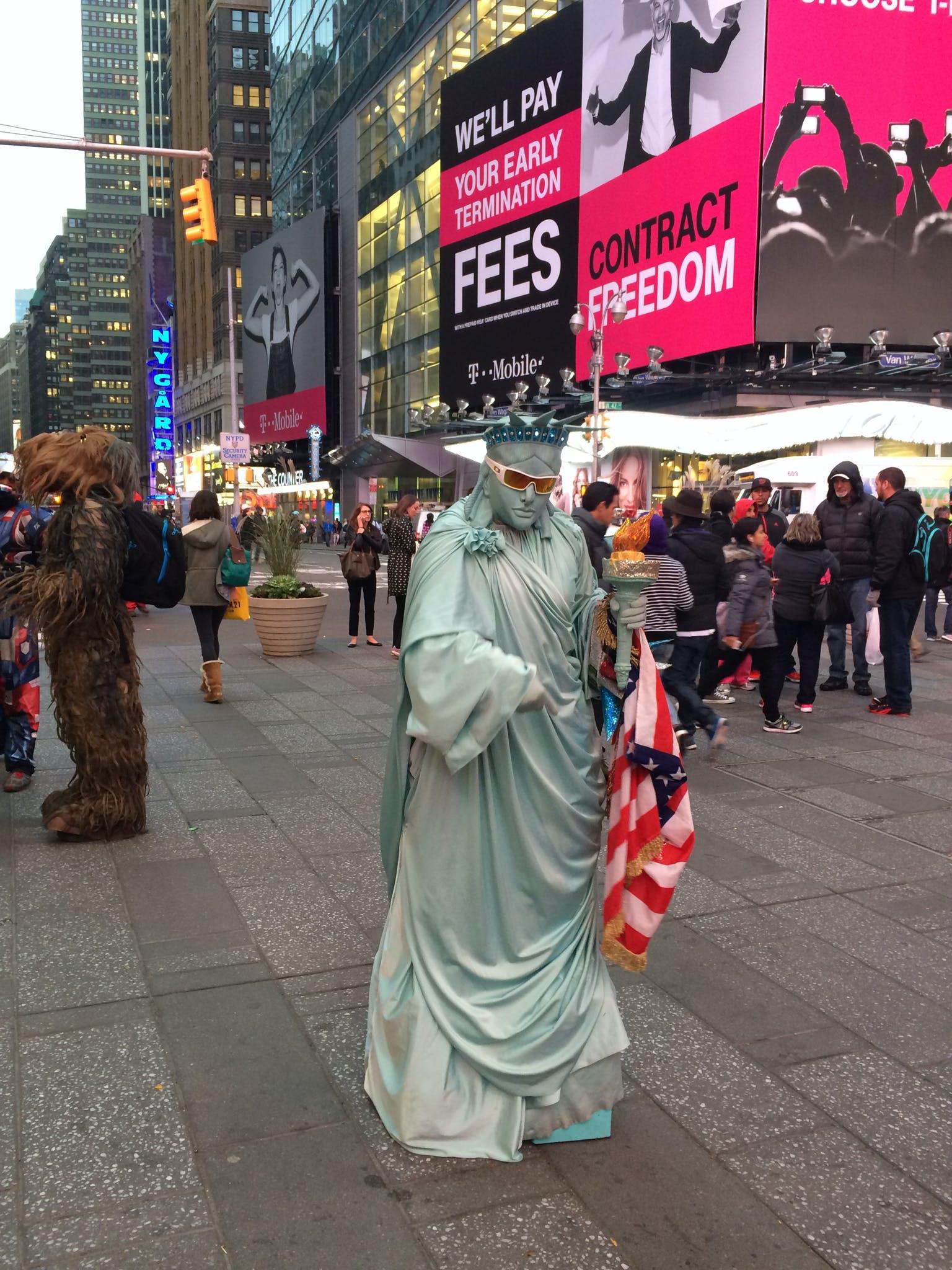Free stock photo of costume, flag, halloween, new york
