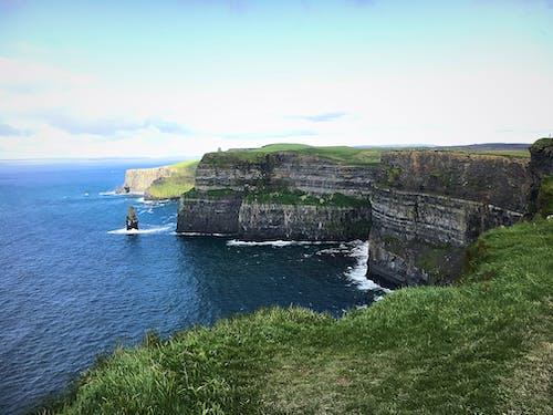 Free stock photo of cliff, cliff coast, coast mountains, ireland