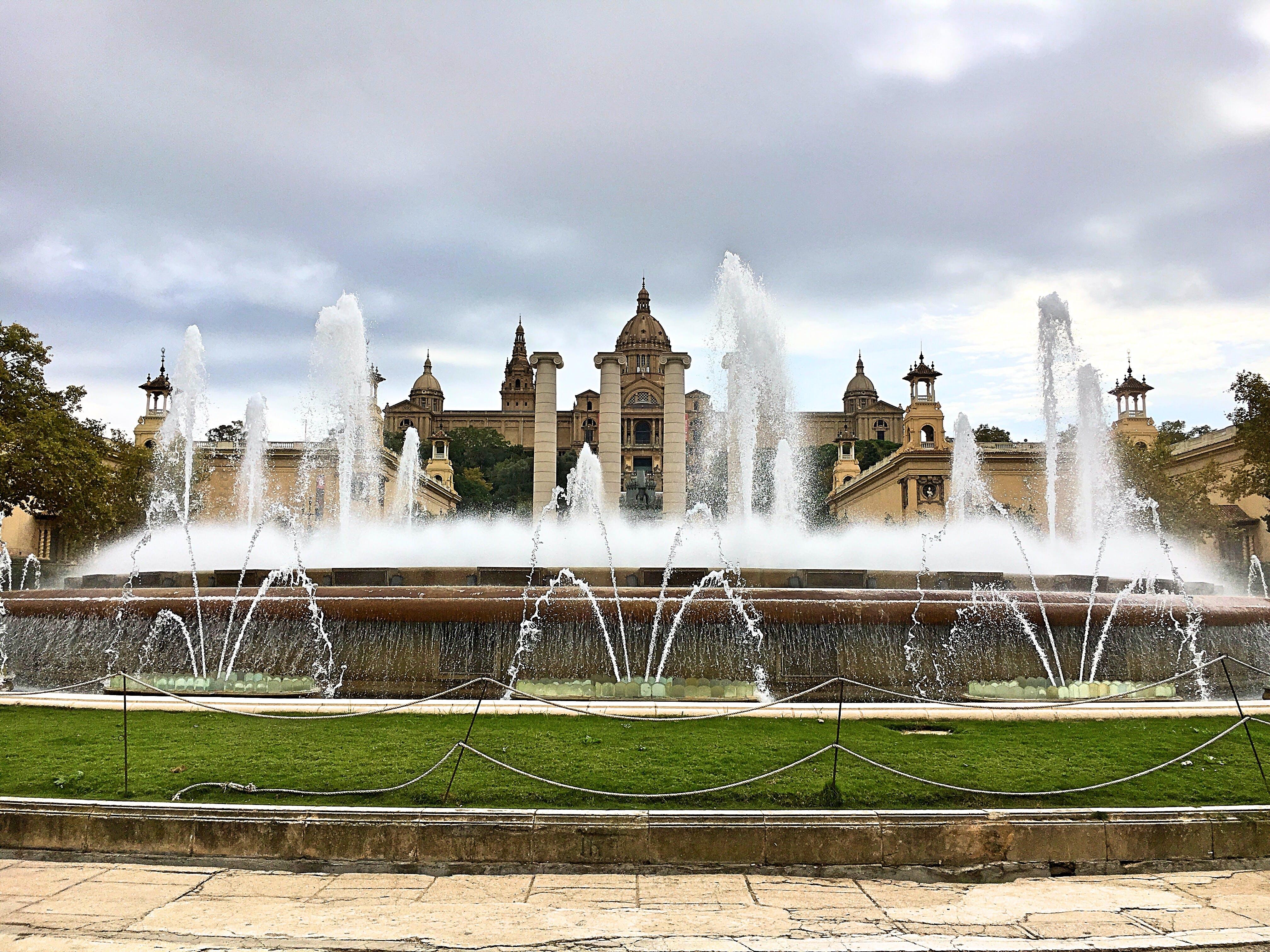 Free stock photo of barcelona, fountain, museum, spain