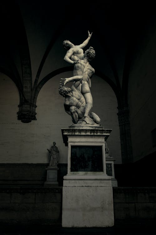 Statue in a Building