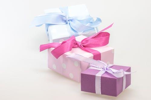 Gratis stockfoto met bogen, cadeaus, Kerstmis, lint