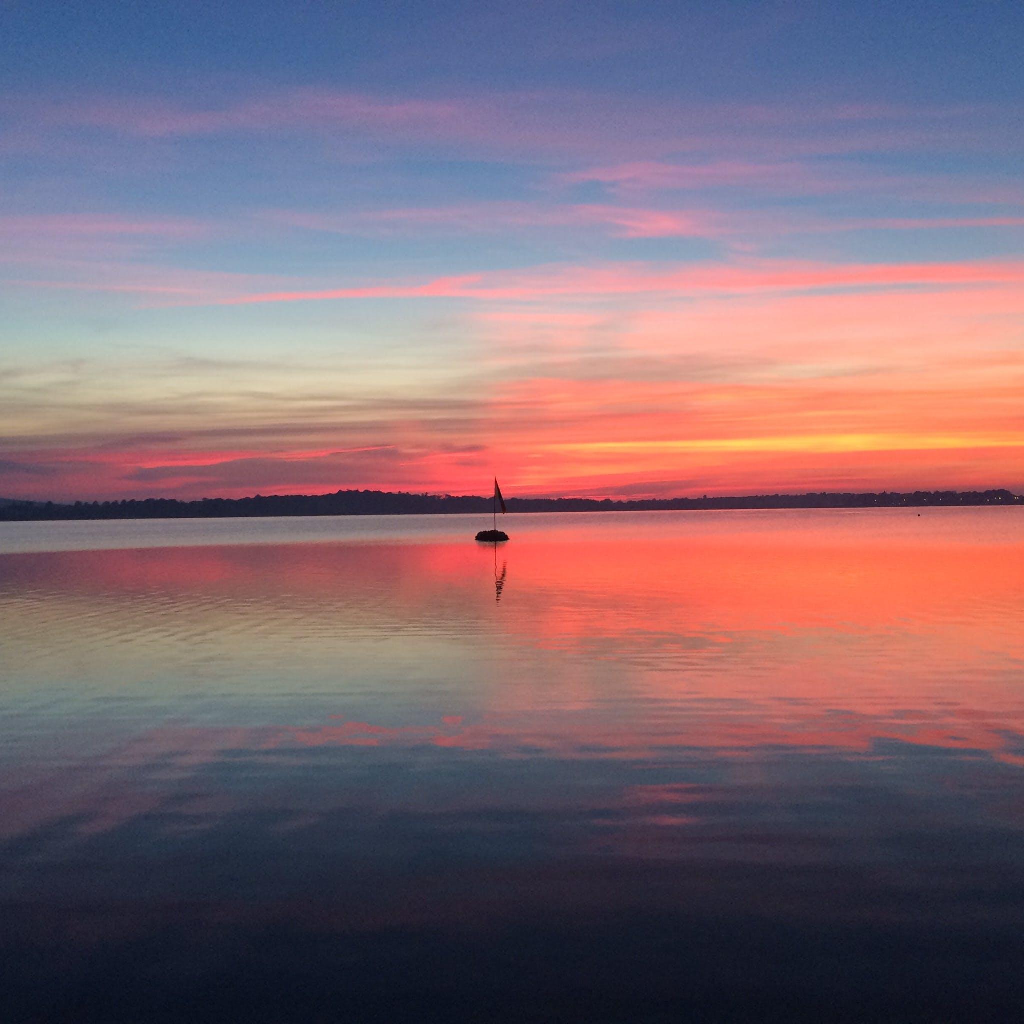 Free stock photo of sunset, lake, ireland, Galway