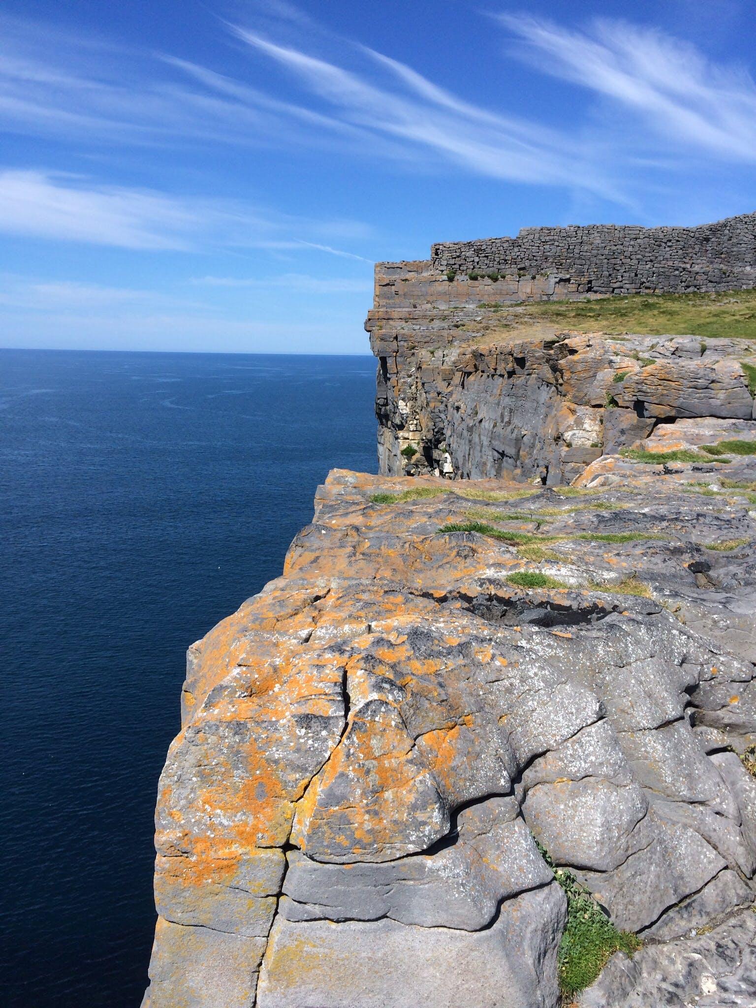 Free stock photo of ireland, cliffs, Galway, Aran Islands