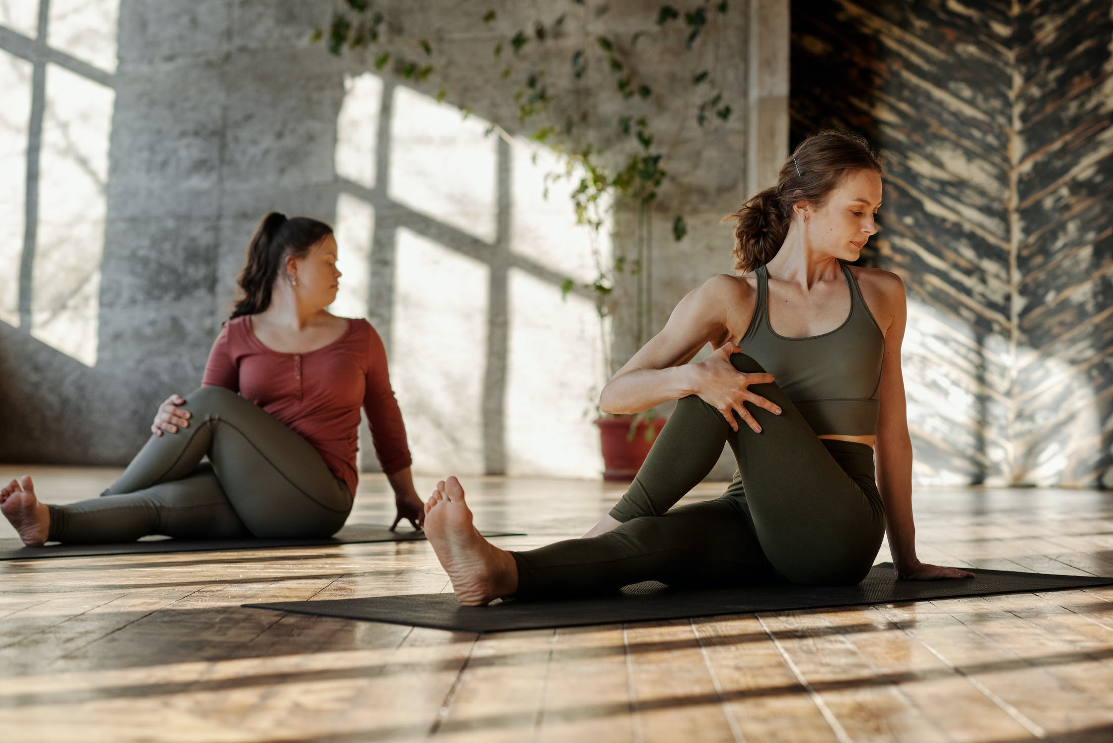 Benefits of yoga for two