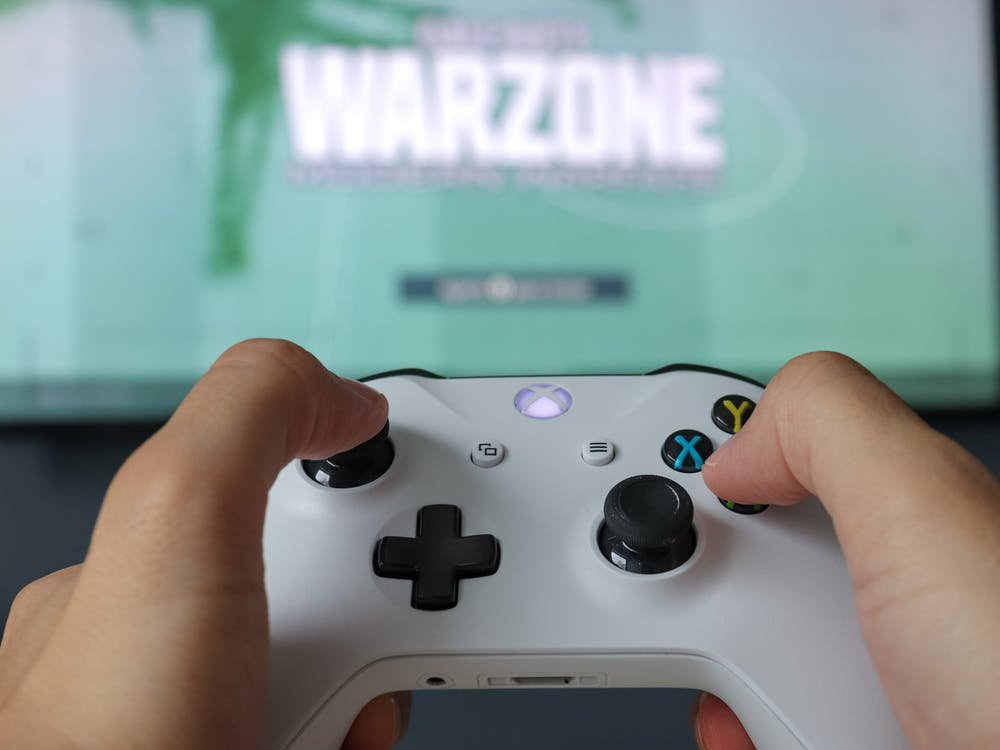 Close-Up Photo Of Game Controller
