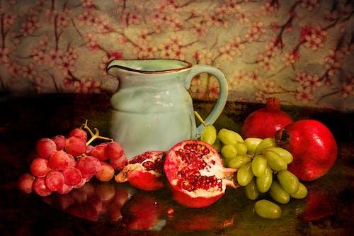 çiğ, Gıda, ibrik, meyveler içeren Ücretsiz stok fotoğraf