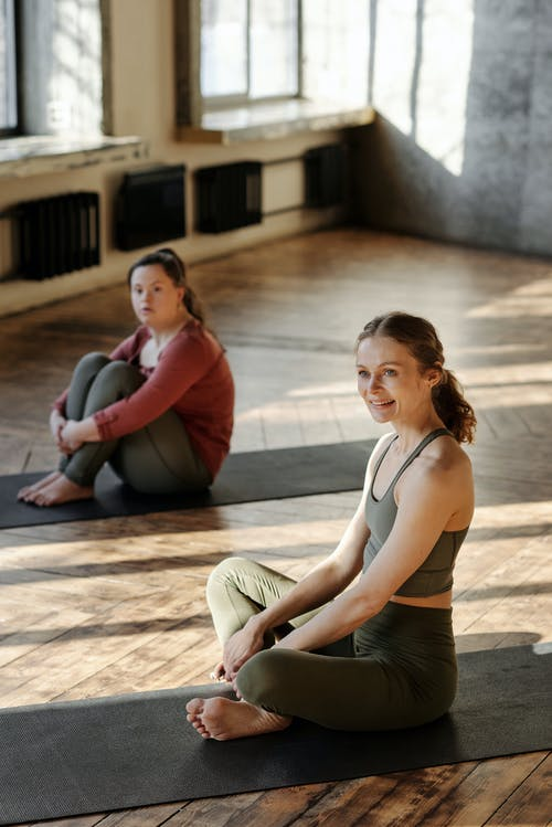 Photo Of Women In A Yoga Position