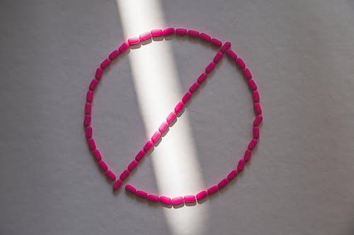 Foto stok gratis alergi, antihistamin, bentuk, berwarna merah muda
