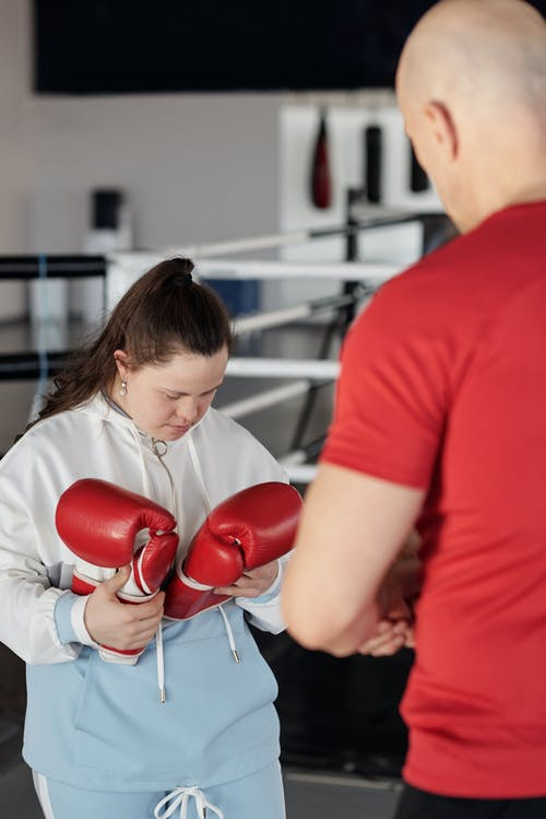 Woman Doing Boxing