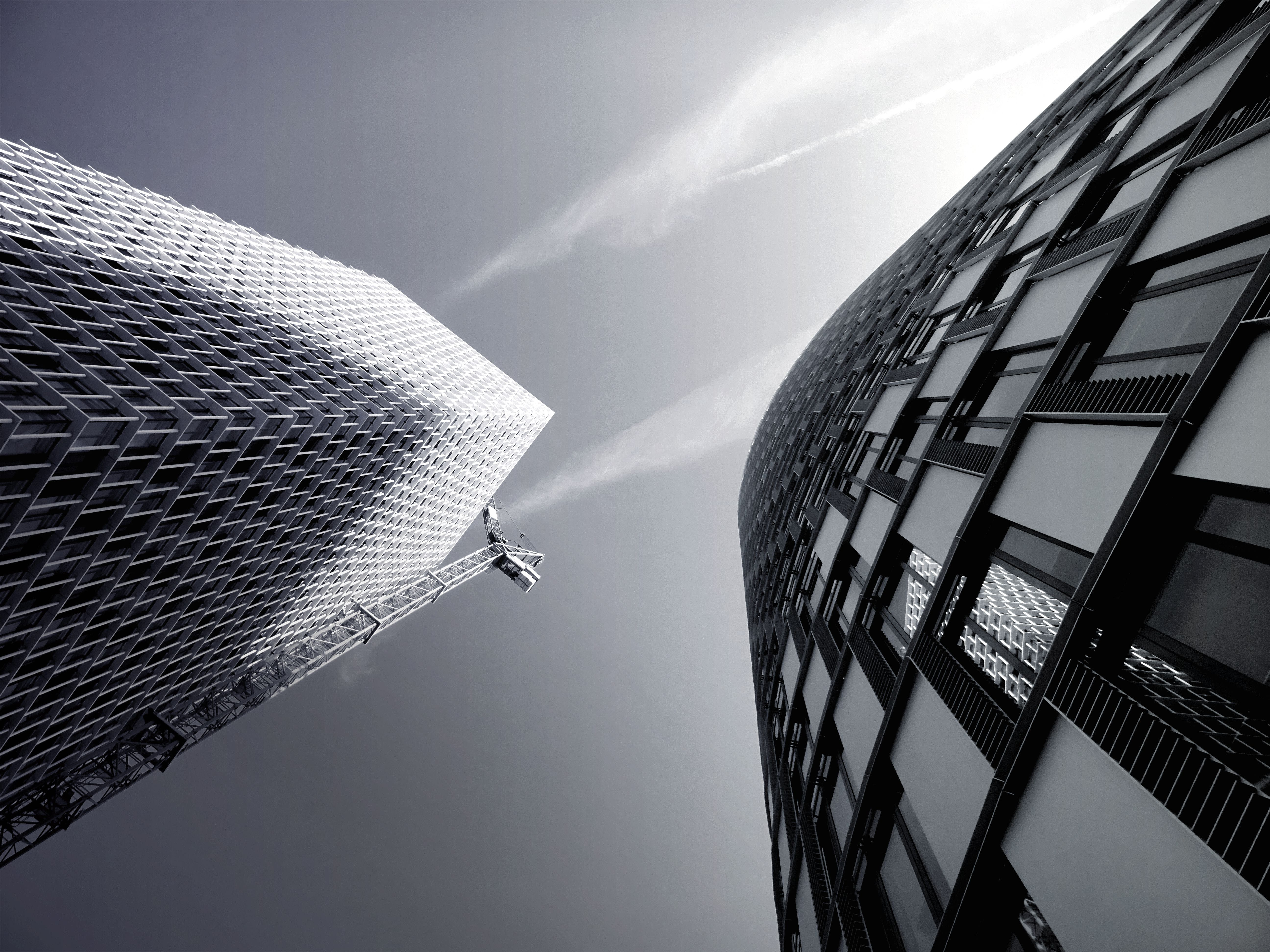 Low-angle Shot Photography of Buildings