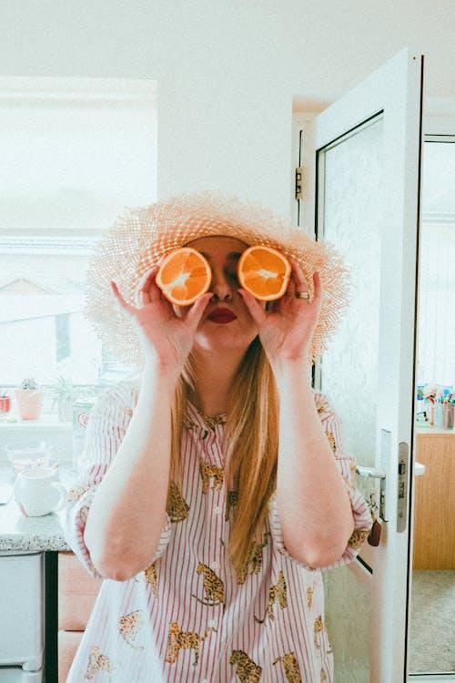 Gratis lagerfoto af afslapning, appelsin, c-vitamin