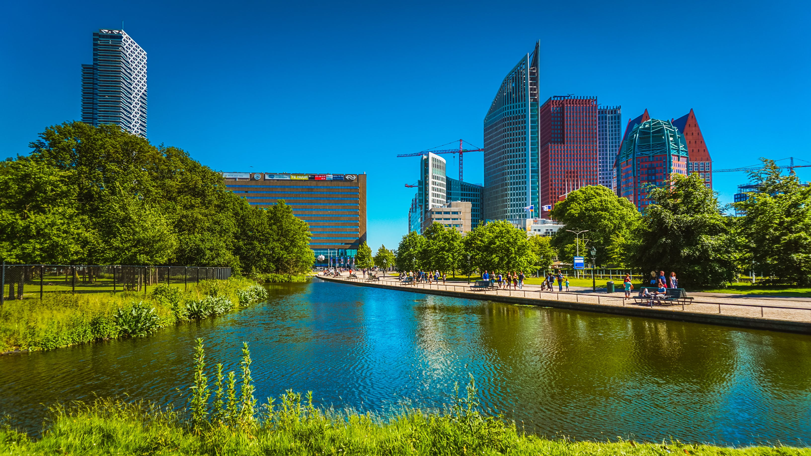 Free stock photo of city-challenge, cityscape, den haag, Holland