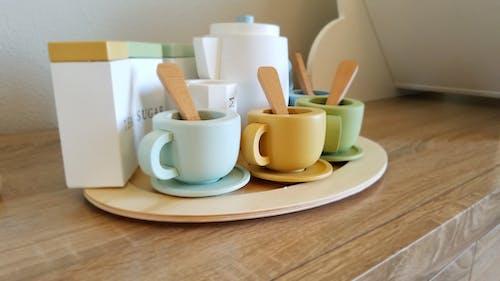 Free stock photo of bruce clark, milk, serving cups