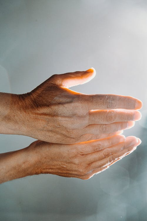 Persons Hands