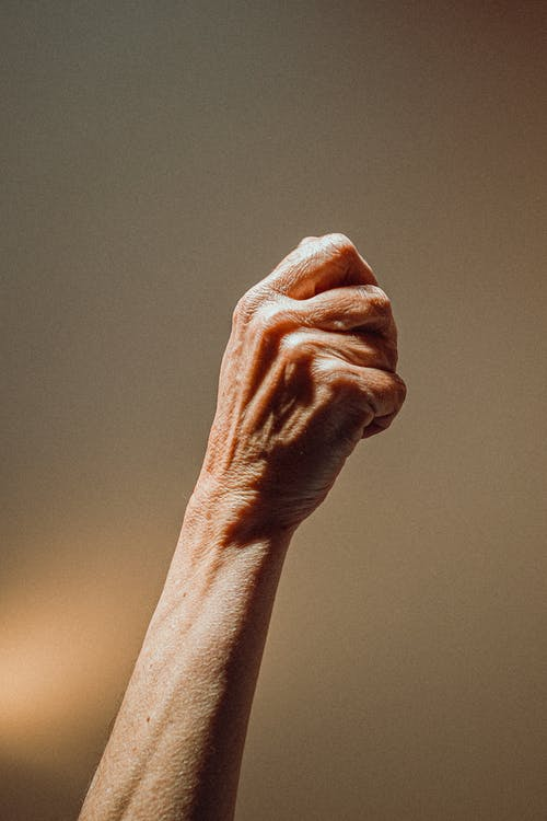 Persons Left Hand