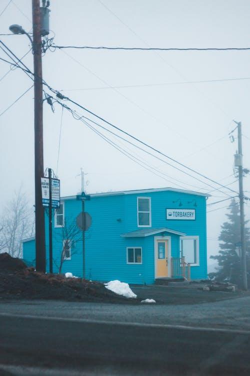 Blue Bakery Shop