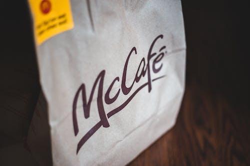 McCafe Paper Bag