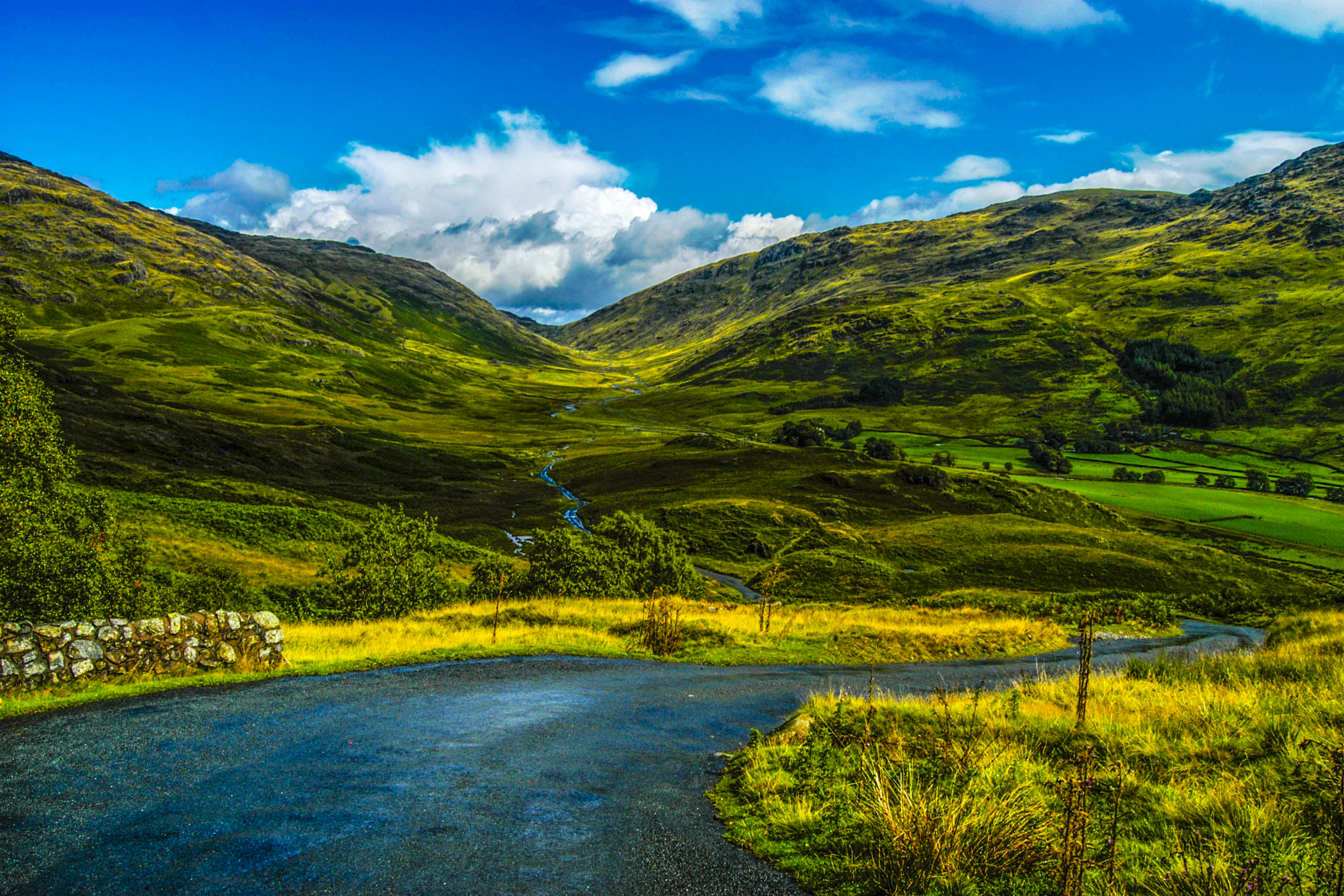 Landscape Photography of Mountains and River