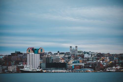 ウォーターフロント, シティ, スカイライン, ダウンタウンの無料の写真素材